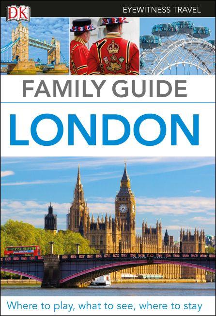 Hardback cover of DK Eyewitness Family Guide London