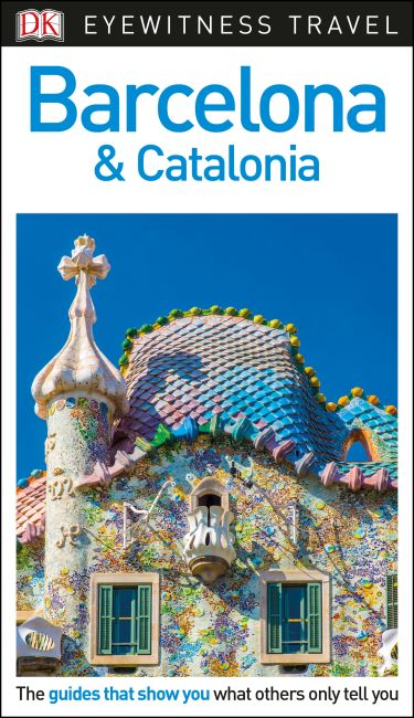 Flexibound cover of DK Eyewitness Barcelona and Catalonia