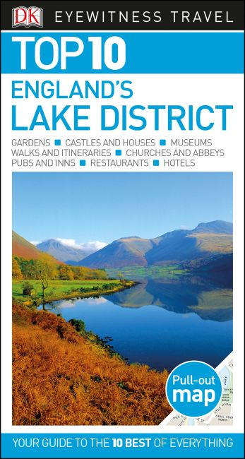Paperback cover of DK Eyewitness Top 10 England's Lake District