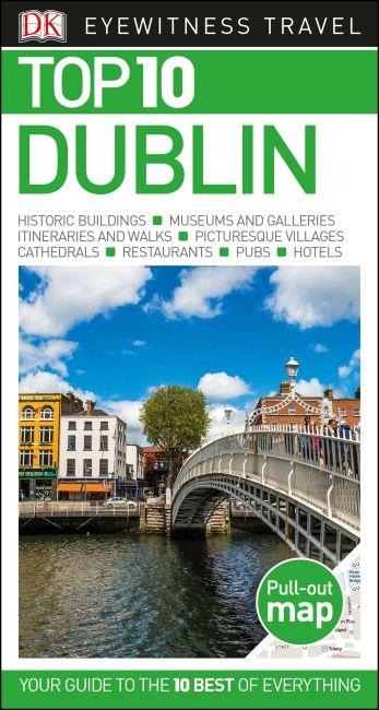 Paperback cover of DK Eyewitness Top 10 Dublin