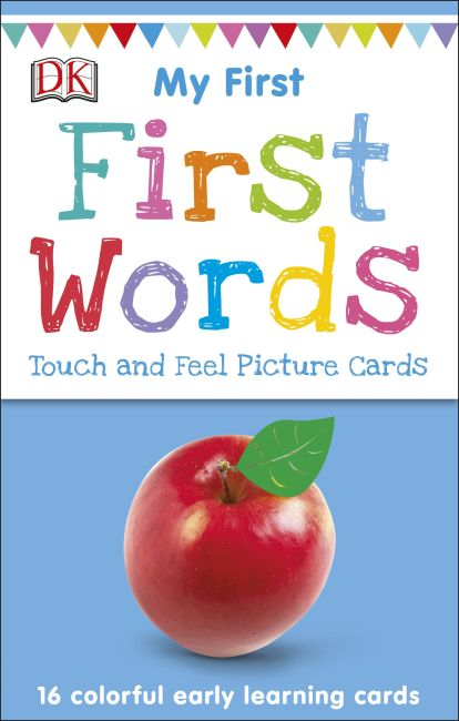 Paperback cover of My First Touch and Feel Picture Cards: First Words