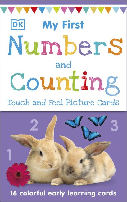 Paperback cover of My First Touch and Feel Picture Cards: Numbers and Counting