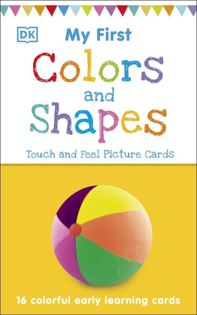 Paperback cover of My First Touch and Feel Picture Cards: Colors and Shapes