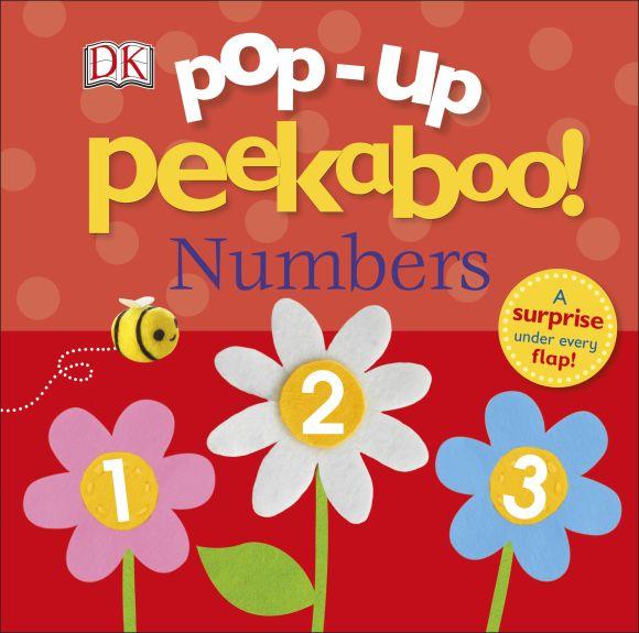 Board book cover of Pop-Up Peekaboo! Numbers
