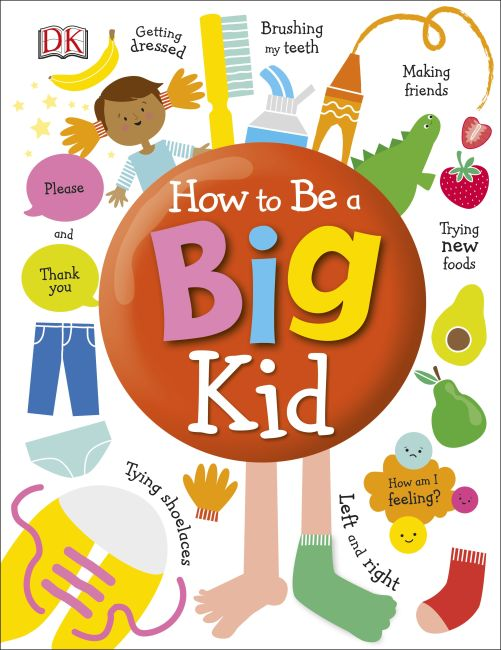 Hardback cover of How to Be a Big Kid