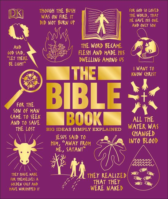 Hardback cover of The Bible Book