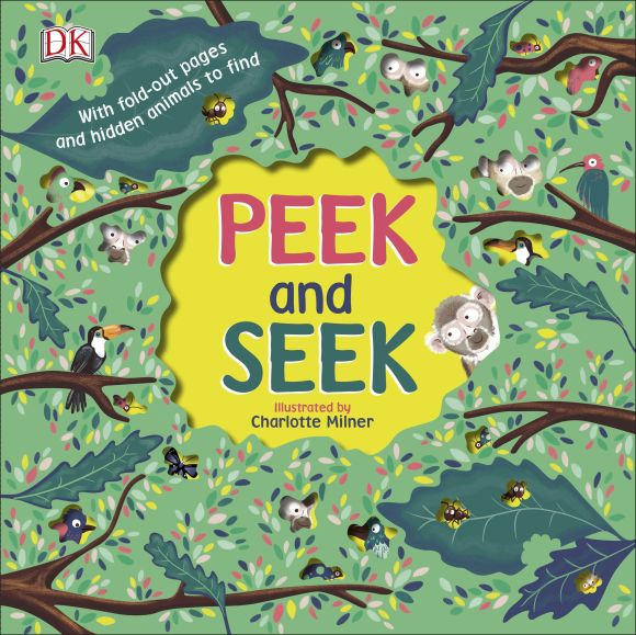 Board book cover of Peek and Seek