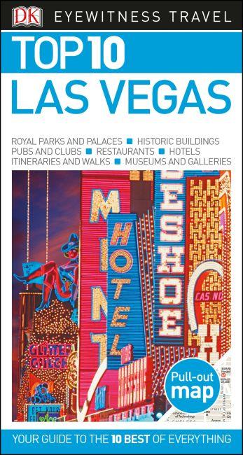 Paperback cover of DK Eyewitness Top 10 Las Vegas