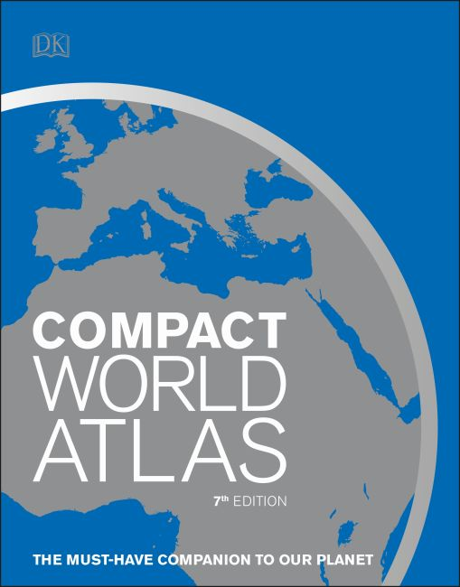 Paperback cover of Compact World Atlas, 7th Edition