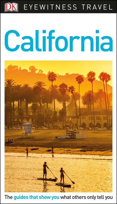 Hardback cover of DK Eyewitness California