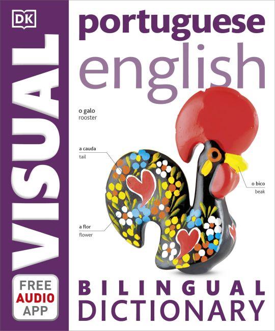 Paperback cover of Portuguese-English Bilingual Visual Dictionary