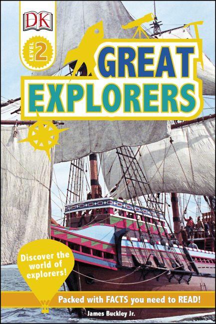 Hardback cover of DK Readers L2: Great Explorers