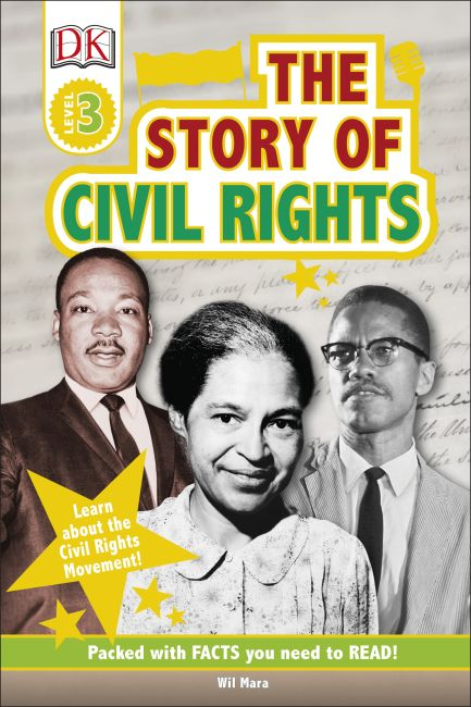 Hardback cover of DK Readers L3: The Story of Civil Rights