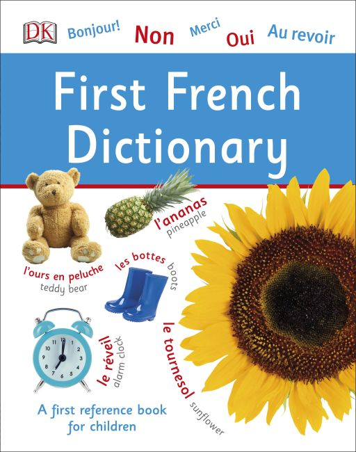 Hardback cover of First French Dictionary