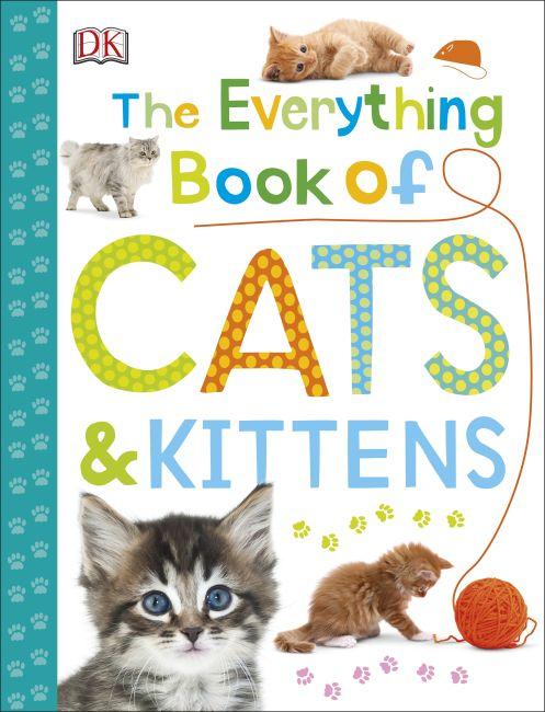 Paperback cover of The Everything Book of Cats and Kittens
