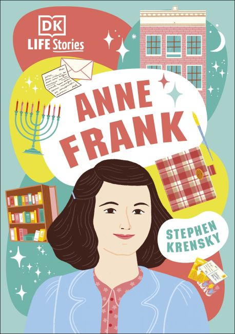 Hardback cover of DK Life Stories Anne Frank