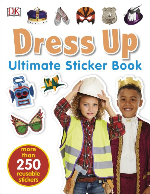 Paperback cover of Ultimate Sticker Book: Dress Up