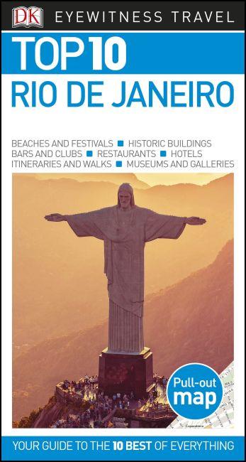 Paperback cover of DK Eyewitness Top 10 Rio de Janeiro