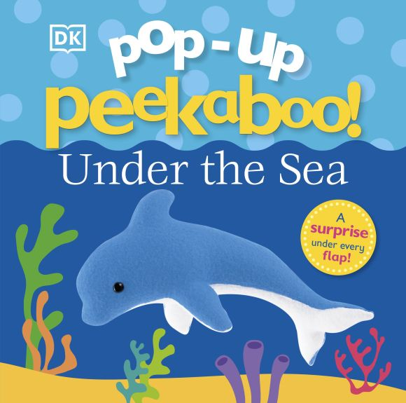 Board book cover of Pop-up Peekaboo: Under the Sea