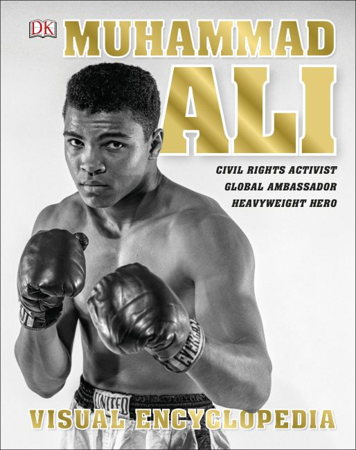 Hardback cover of Muhammad Ali Visual Encyclopedia
