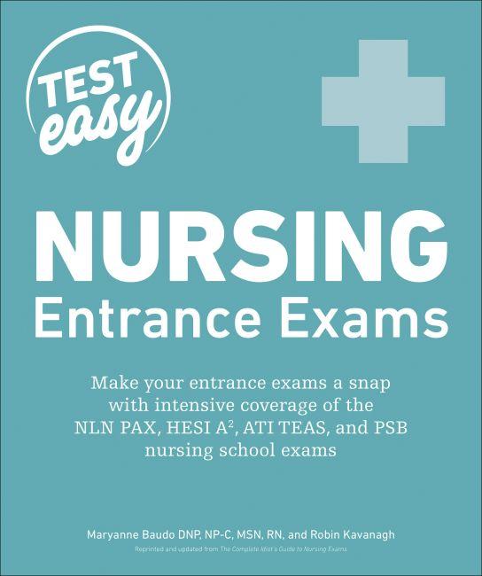 Paperback cover of Nursing Entrance Exams