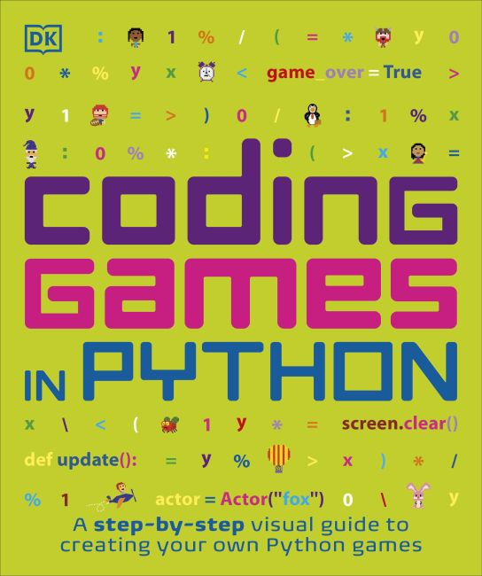 Paperback cover of Coding Games in Python