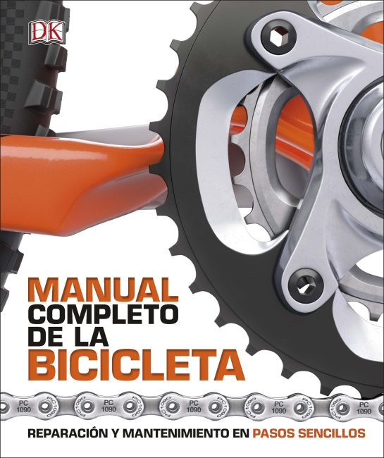 Hardback cover of Manual Completo de la Bicicleta