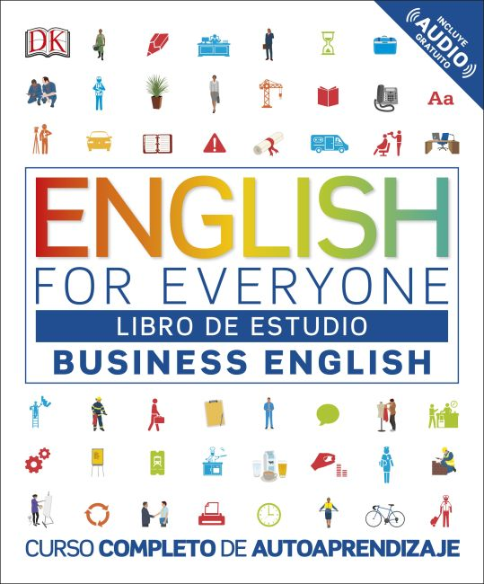 Paperback cover of English for Everyone: Business English, Libro de estudio