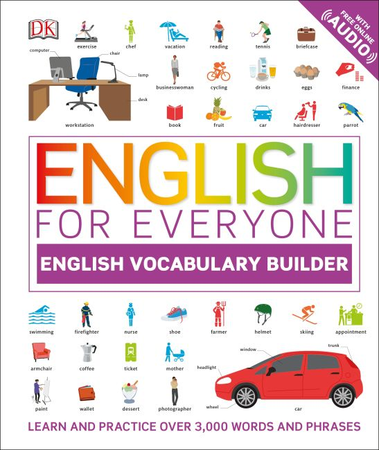 Hardback cover of English for Everyone: English Vocabulary Builder (Library Edition)