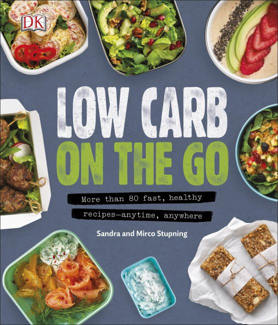 Paperback cover of Low Carb On The Go