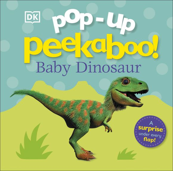 Board book cover of Pop-up Peekaboo! Baby Dinosaur