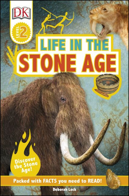 eBook cover of DK Readers L2: Life In the Stone Age