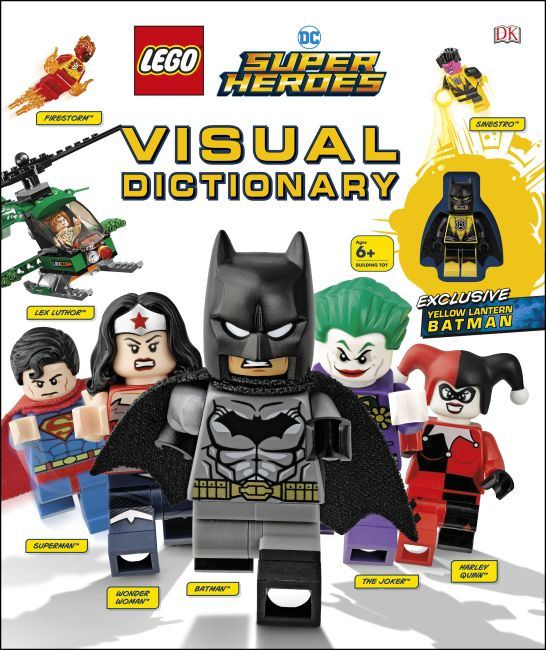 Hardback cover of LEGO DC Super Heroes Visual Dictionary