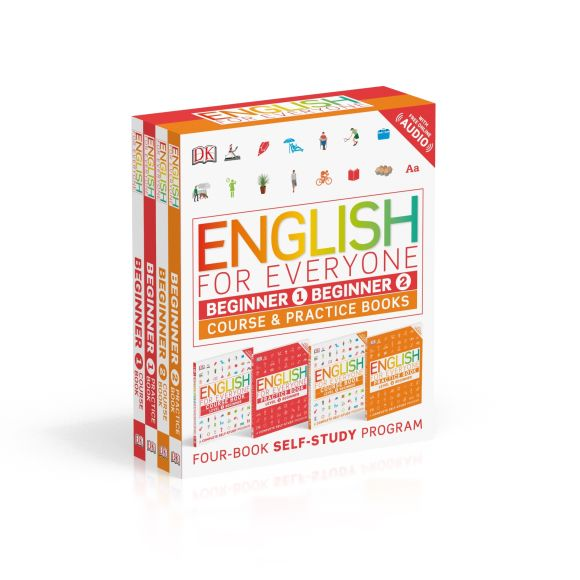 Paperback cover of English for Everyone: Beginner Box Set