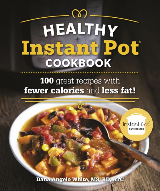 Paperback cover of The Healthy Instant Pot Cookbook