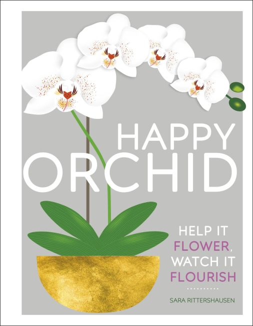 Hardback cover of Happy Orchid