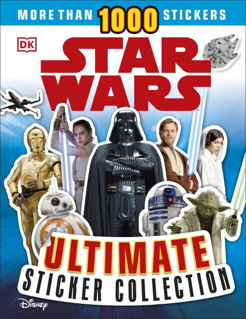 Paperback cover of Ultimate Sticker Collection: Star Wars