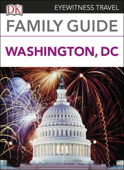 eBook cover of DK Eyewitness Family Guide Washington, DC