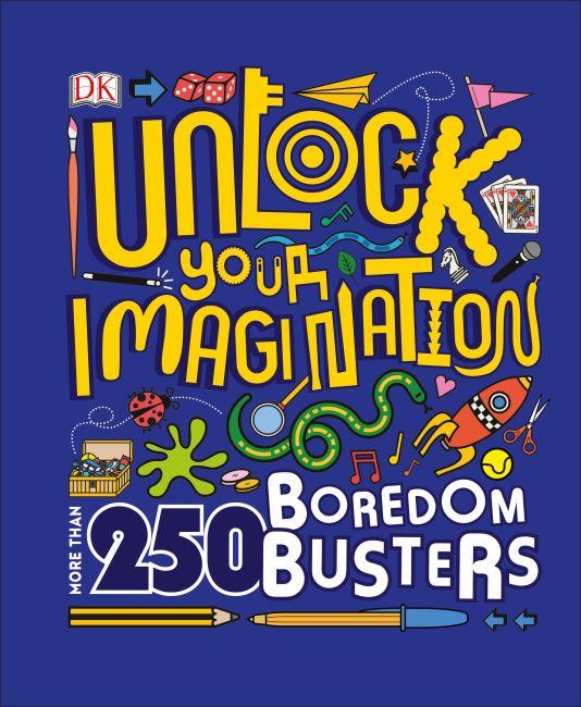 Hardback cover of Unlock Your Imagination