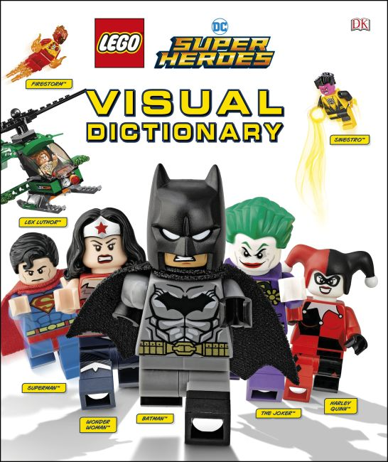 Hardback cover of LEGO DC Comics Super Heroes Visual Dictionary (Library Edition)