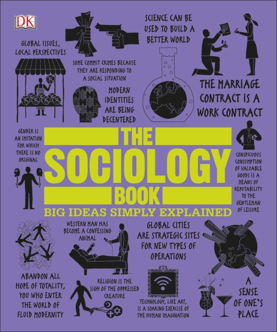 Paperback cover of The Sociology Book