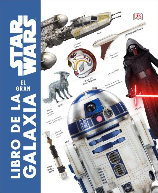 Hardback cover of Star Wars: El gran libro de la galaxia