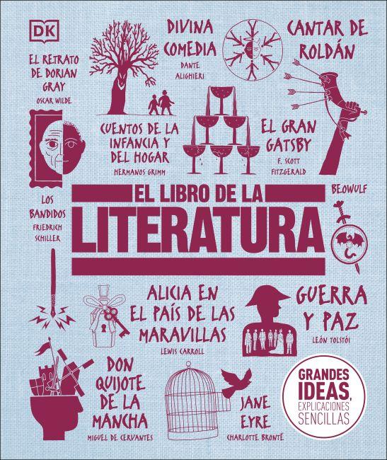 Hardback cover of El Libro de la Literatura