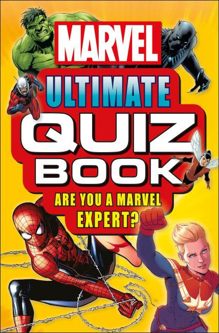 Paperback cover of Marvel Ultimate Quiz Book
