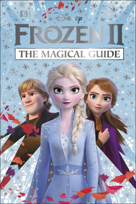 Hardback cover of Disney Frozen 2 The Magical Guide