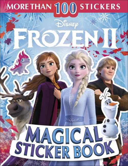 Paperback cover of Disney Frozen 2 Magical Sticker Book