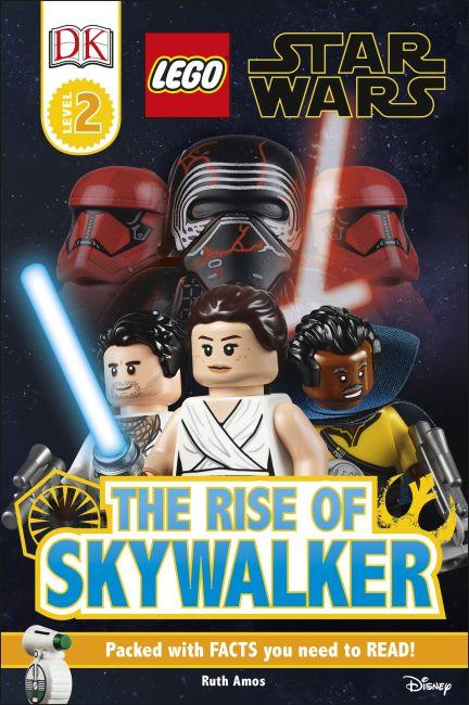 Hardback cover of DK Readers Level 2: LEGO Star Wars The Rise of Skywalker