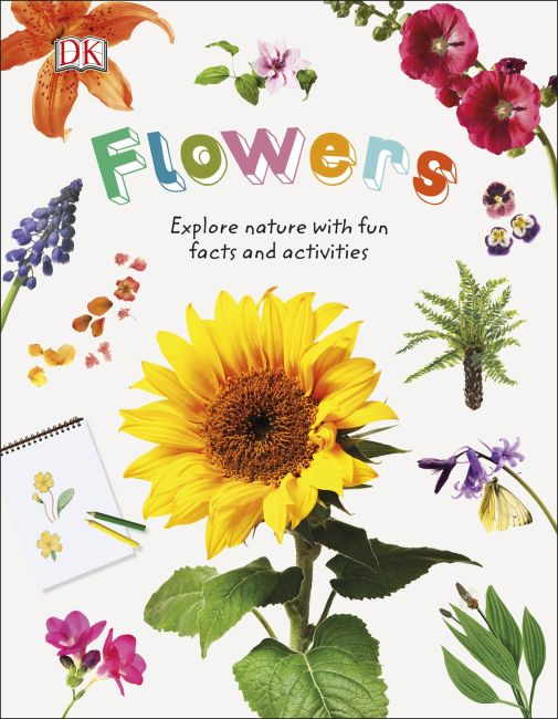 Hardback cover of Flowers