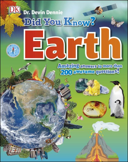 Hardback cover of Did You Know? Earth