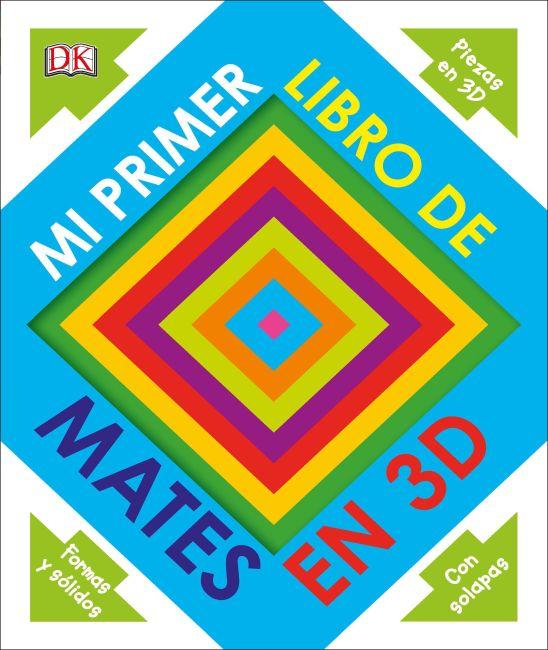 Hardback cover of Mi primer libro de mates en 3D